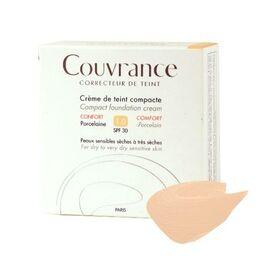 Avene couvrance crème de teint compacte confort porcelaine 1.0 spf30 10g - avène -211001