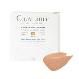 Avene couvrance crème de teint compacte confort sable 3.0 spf30 10g - avène -211006