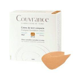 Avene couvrance crème de teint compacte fini mat miel 4.0 spf30 10g - avène -211002