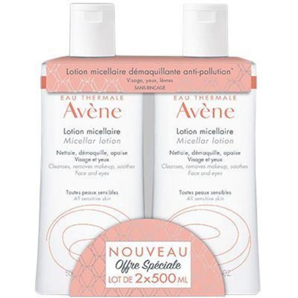 Avene lotion micellaire 2x500ml Avène-223474