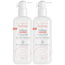 Avene trixera nutrition baume nutri-fluide lot de 2 x 400ml - avène -216168