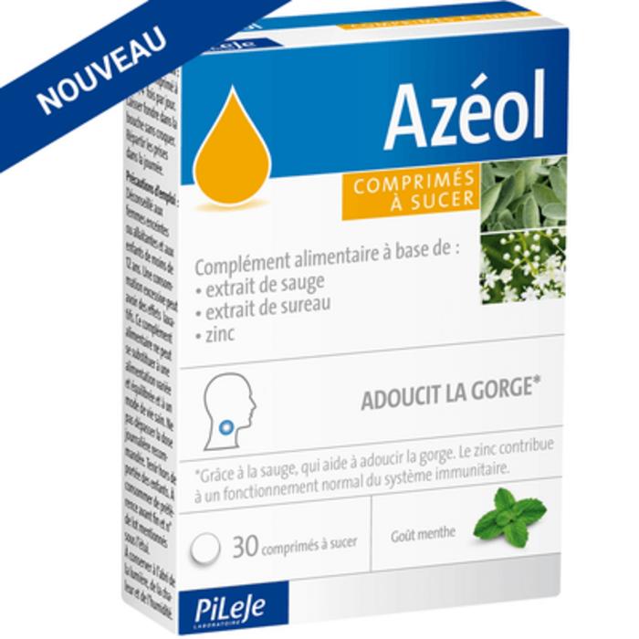 Azéol 30 comprimés Pileje-227910