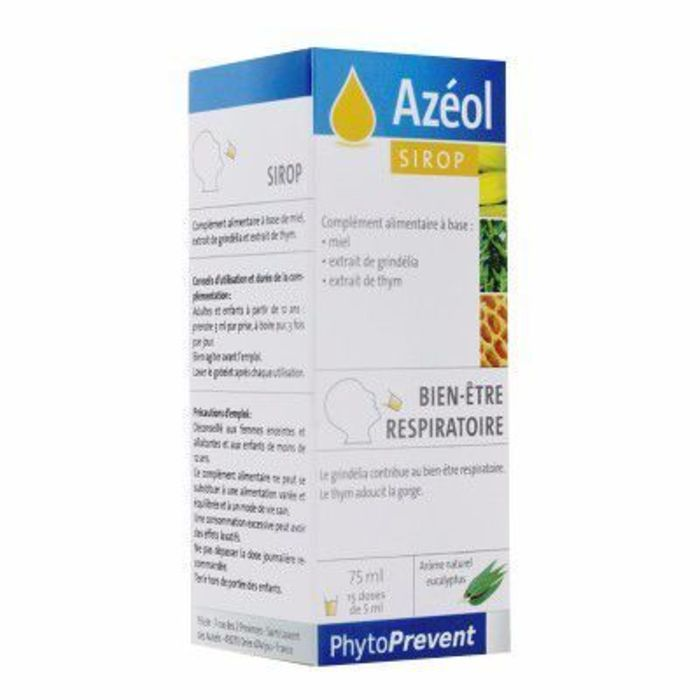 Azéol sirop 75ml Pileje-216555