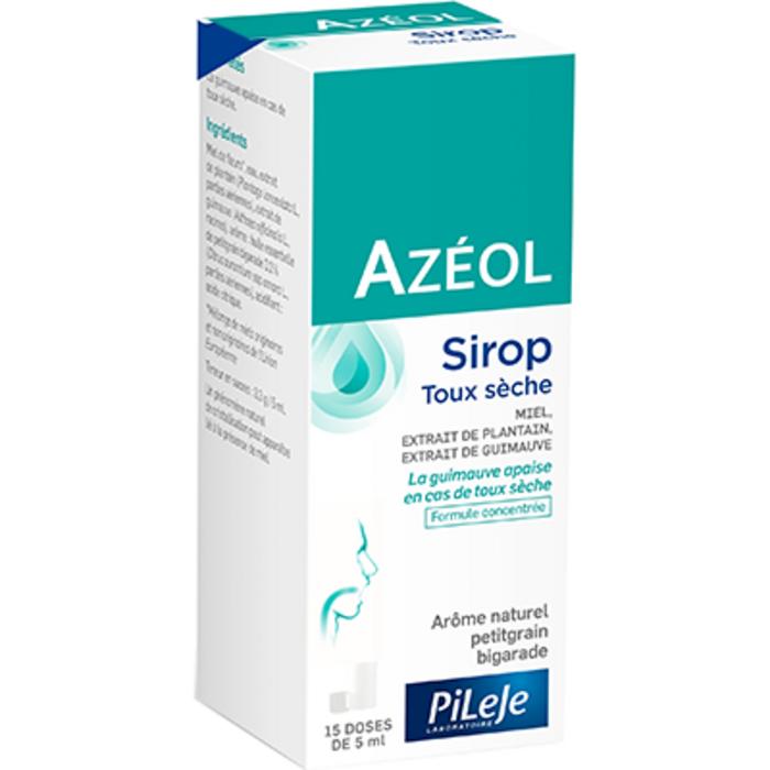 Azéol sirop toux sèche 15 doses Pileje-229145