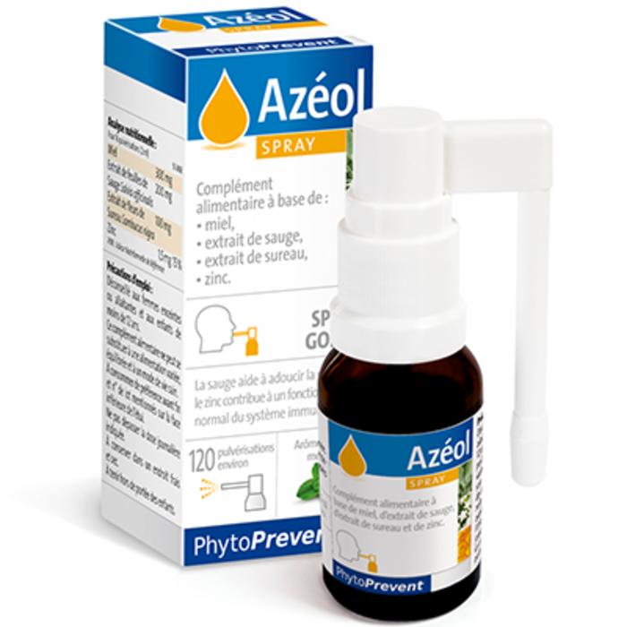 Azéol spray gorge 15ml Pileje-203280