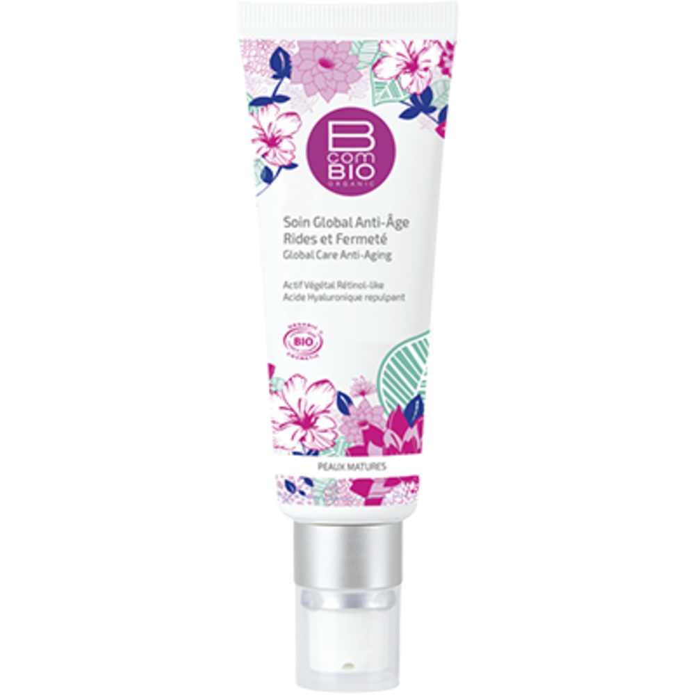 B com bio soin global anti-âge 50ml - b com bio -133613