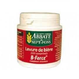 B-force (levure de bière) - 200.0 unites - compléments alimentaires - abbaye de sept-fons -11968