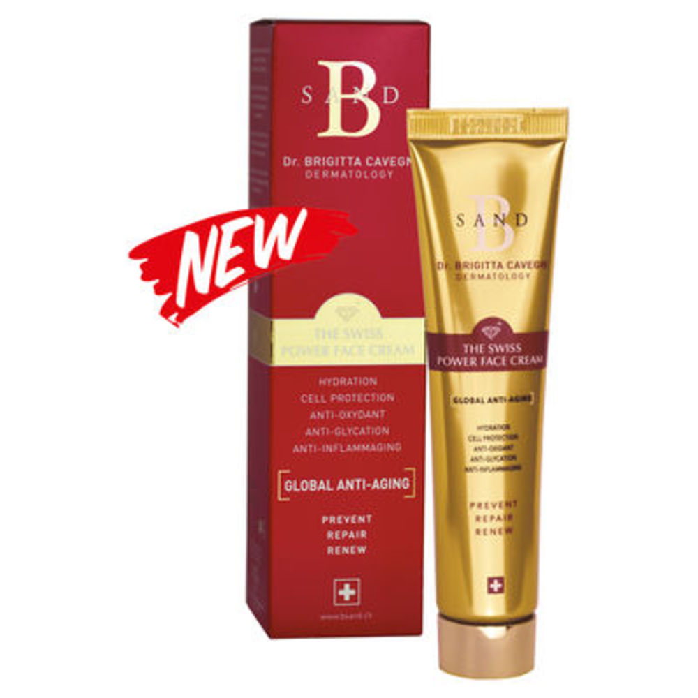 B sand the swiss power face cream 40ml Innoderm-221600
