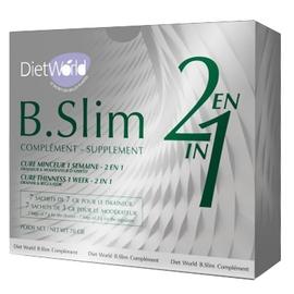 B slim complément 2 en 1 - 14 sachets - dietworld -205341
