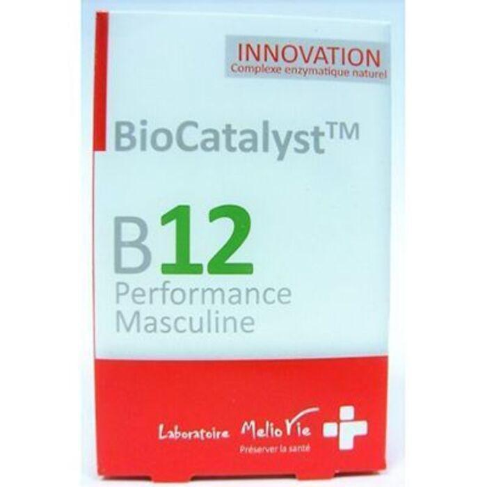 B12 performance masculine 15 gélules Biocatalyst-226047