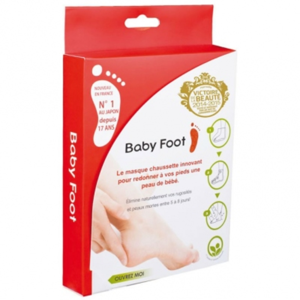 Baby foot masque chaussette exfoliant - baby foot -146791