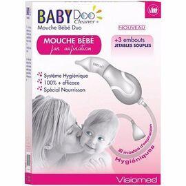Babydoo mouche-bébé duo par aspiration manuelle ou buccale - visiomed -215132