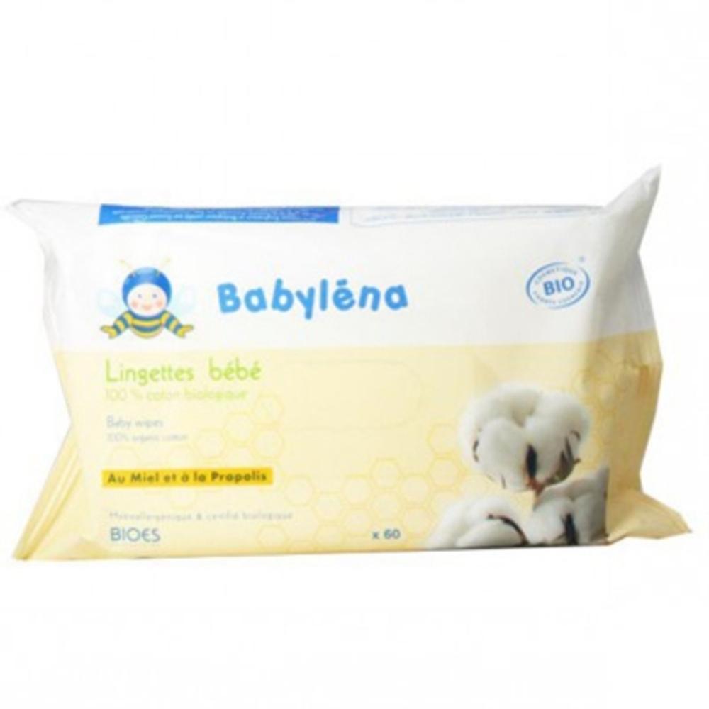 Babylena lingettes bébé - 60.0 unites - babylena - babylena -111457