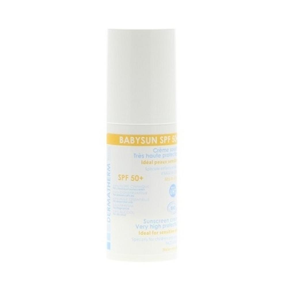 Babysun spf50+ - 30.0 ml - solaire - dermatherm Crème solaire très haute protection enfant et bébé-130158
