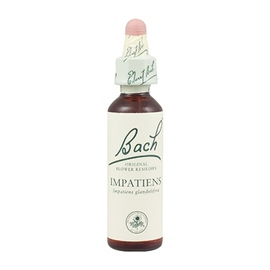 Bach original impatiens n°18 - 20ml - 20.0 ml - bach original Sentiment de solitude - Patience-8154