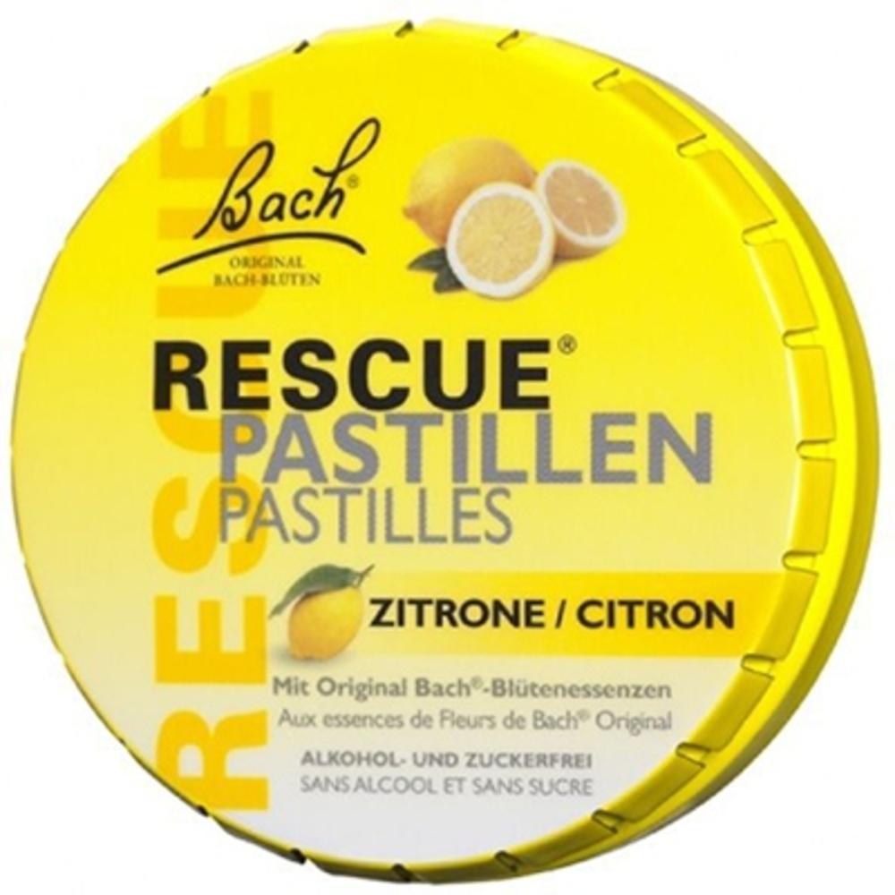Bach original rescue pastilles citron 50g - bach original -211167