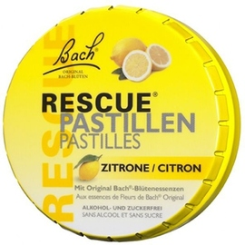 Bach rescue pastilles citron 50g - bach original -211167