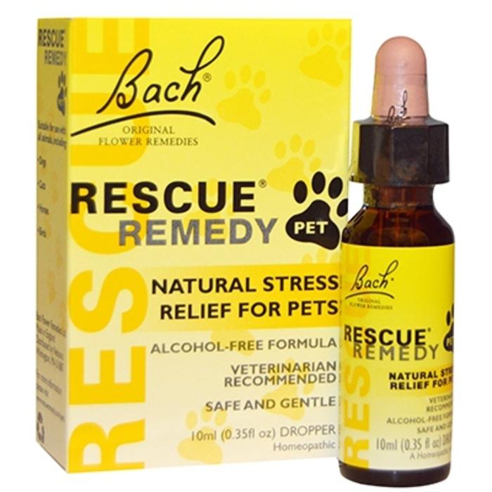 Bach rescue pets compte-gouttes 10ml Bach original-133688