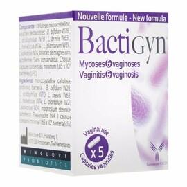 Bactigyn 5 capsules vaginales - 10.0 unites - hygiène intime - laboratoire ccd Déséquilibre de la flore vaginale.-4692