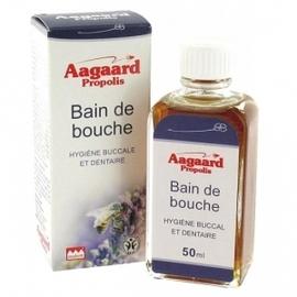 Bain de bouche - 50.0 ml - hygiène buccale - aagaard propolis Désinfecte et assainit la bouche-1075