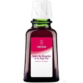 Bain de bouche à la myrrhe - 50.0 ml - dentaires - weleda Purifie et rafraîchit-539