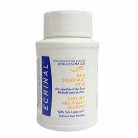 Bain dissolvant doux - 75ml - ecrinal -205666