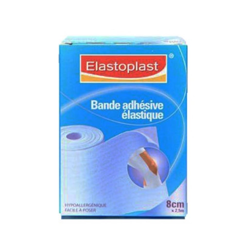 Bande adhésive elastique 8cmx2.5m - elastoplast -112509