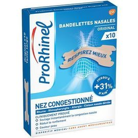 Bandelettes nasales original x10 - prorhinel -225810