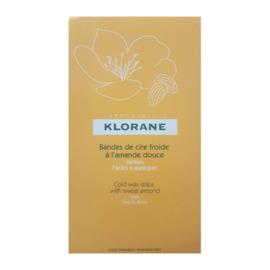 Bandes de cire froide jambes - klorane -201814
