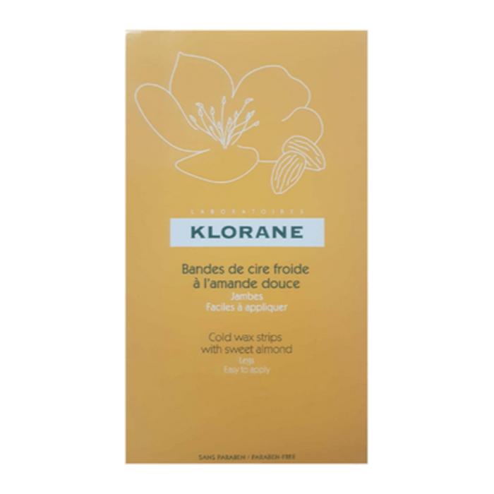 Bandes de cire froide jambes Klorane-201814