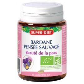 Bardane - pensée sauvage bio - 80.0 unites - beauté - peau - super diet Peau nette-4494