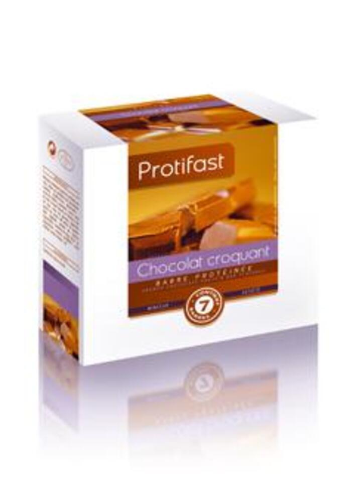 Barre choco craquant x5 - 7.0 unites - protifast Barre hyperprotéinée chocolat croquant-148528