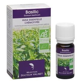 Basilic bio - 10.0 ml - les huiles essentielles bio - dr. valnet Digestion - relaxation-15142