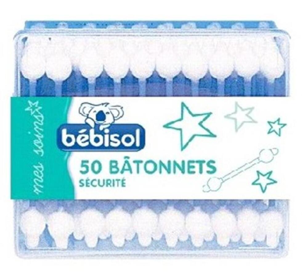 Batonnets sécurité - 50.0 unites - mes soins - bebisol -7407