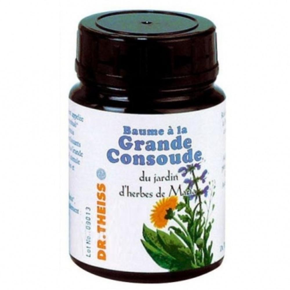 Baume a la grande consoude - 100.0 ml - la cosmétique calendula bio - dr theiss Soulage et détend apres l'effort physique-10429