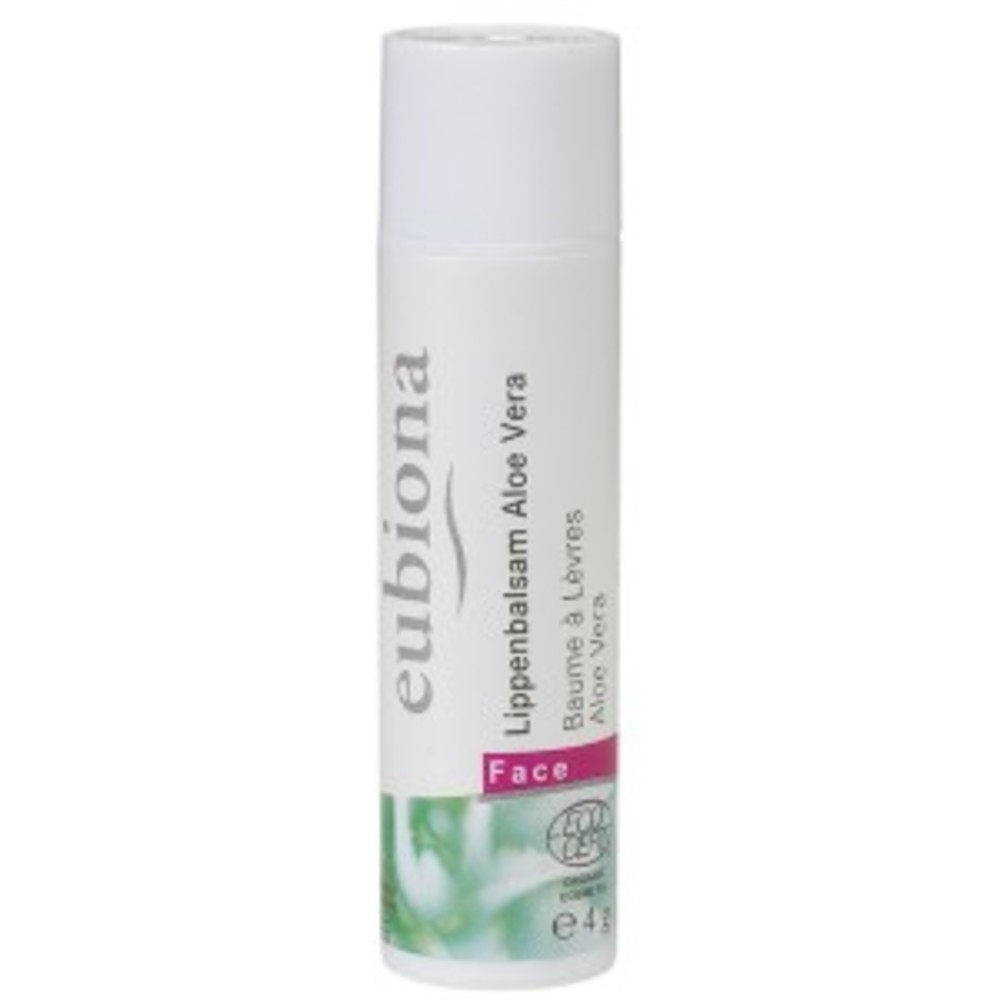 Baume à lèvres aloé vera bio - 4 g - divers - eubiona -135394