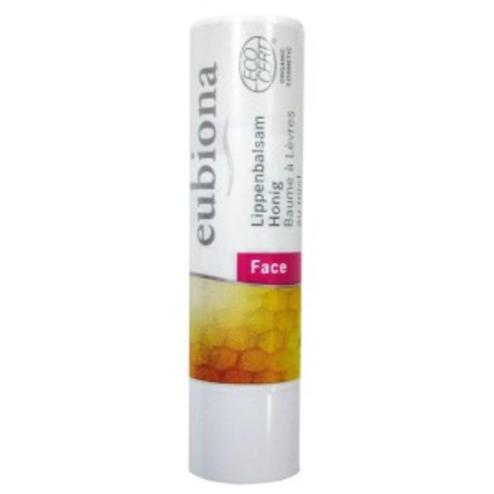 Baume à lèvres miel bio - 4 g - divers - eubiona -135393