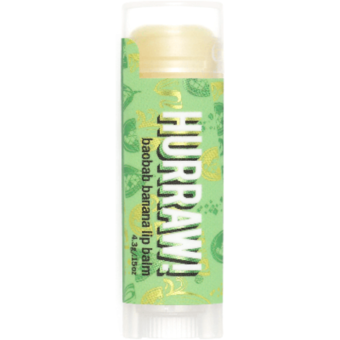 Baume à lèvres vegan baobab banane Hurraw-219687