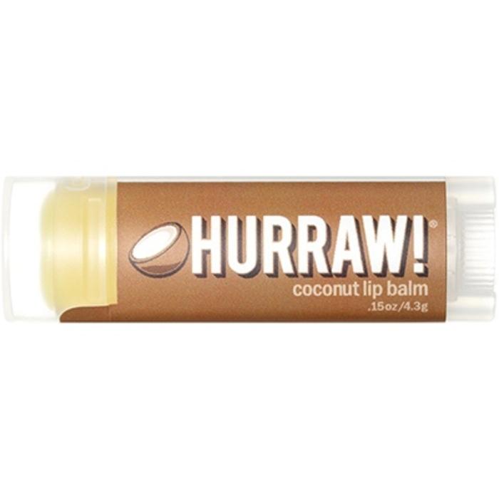Baume à lèvres vegan noix de coco 4,3g Hurraw-205997