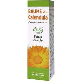 Baume au calendula bio - 40.0 g - saint benoit Peaux sensibles-8332