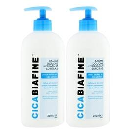 Baume douche - lot de 2 - 400.0 ml - dermo-cosmétique - cicabiafine -124511