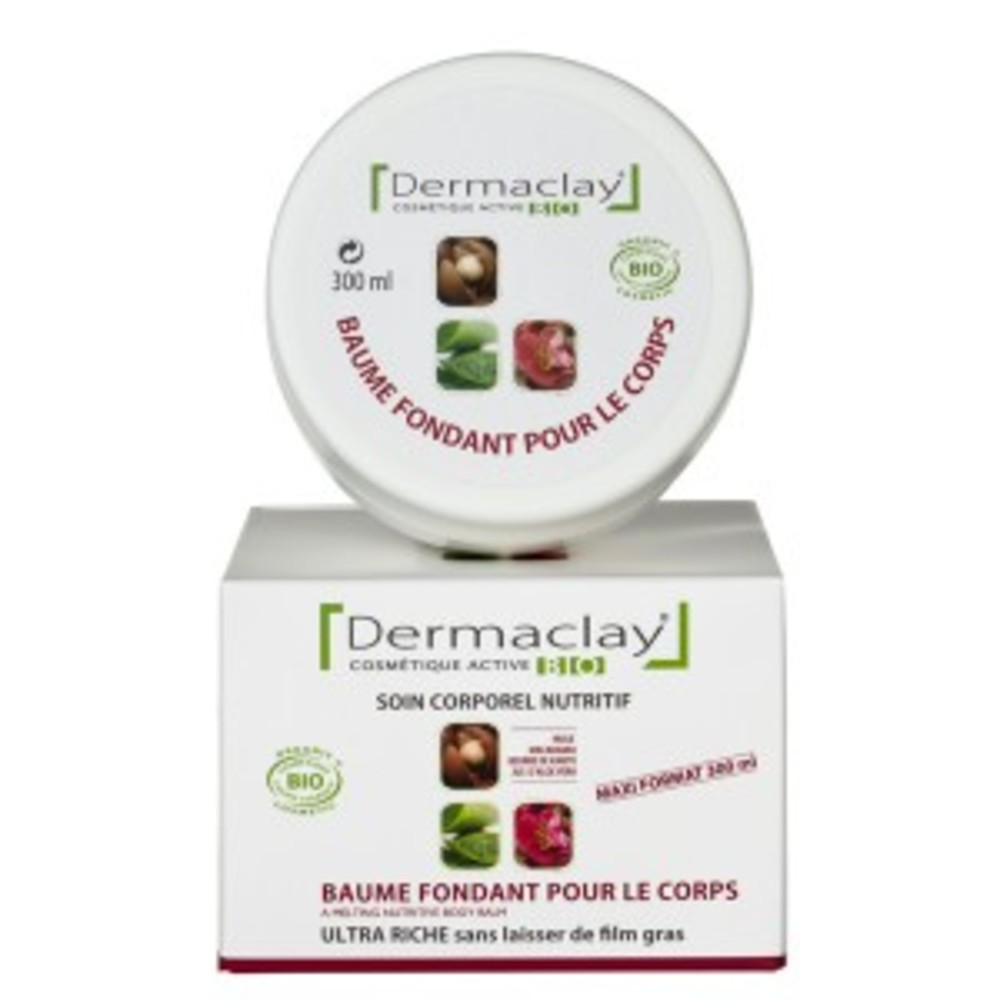 Baume fondant intensif corps - 300.0 ml - corps - dermaclay -134849