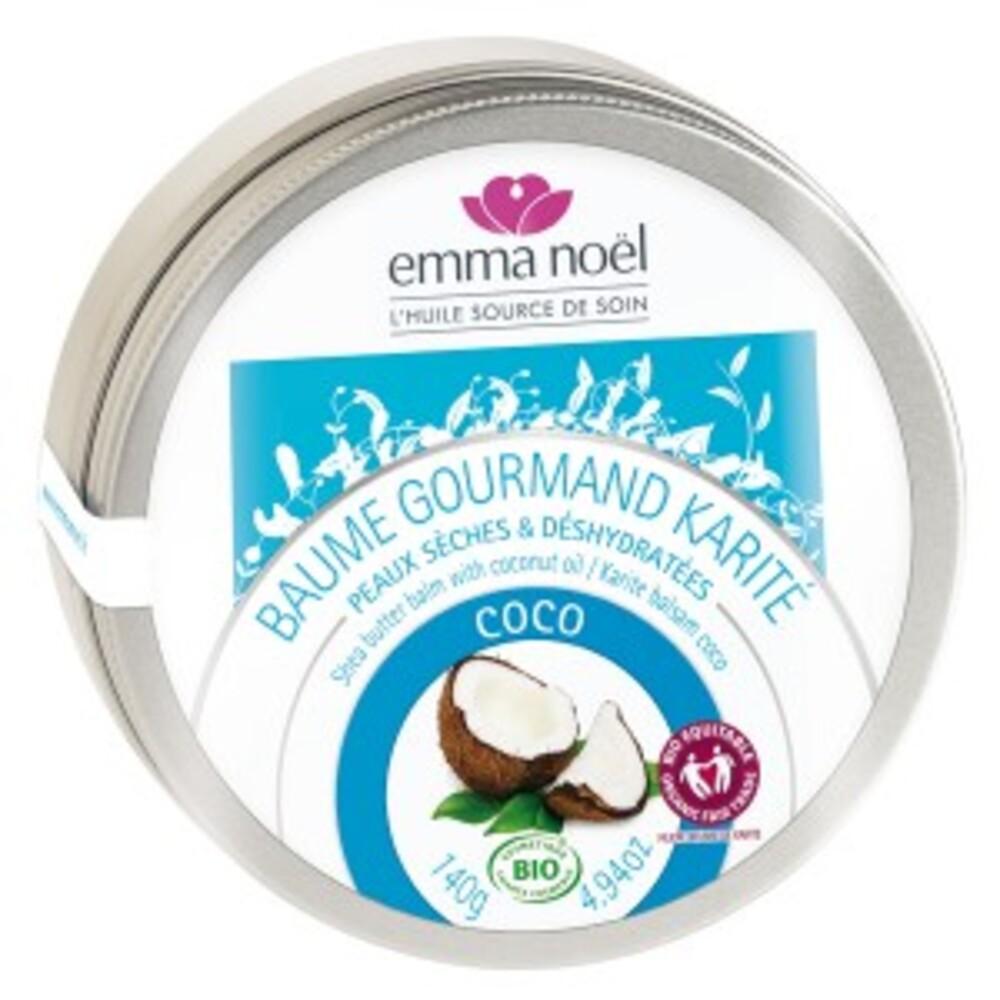 Baume karité coco bio - 150.0 ml - baumes au karité - emma noël -11198