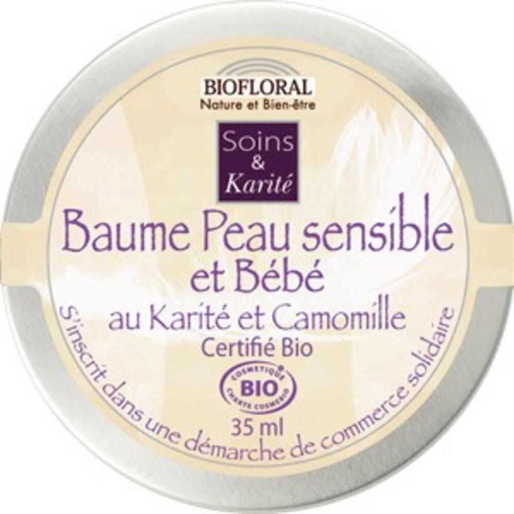 Baume peau sensible et bébé à la camomille bio - 35 ml - divers - biofloral -134009