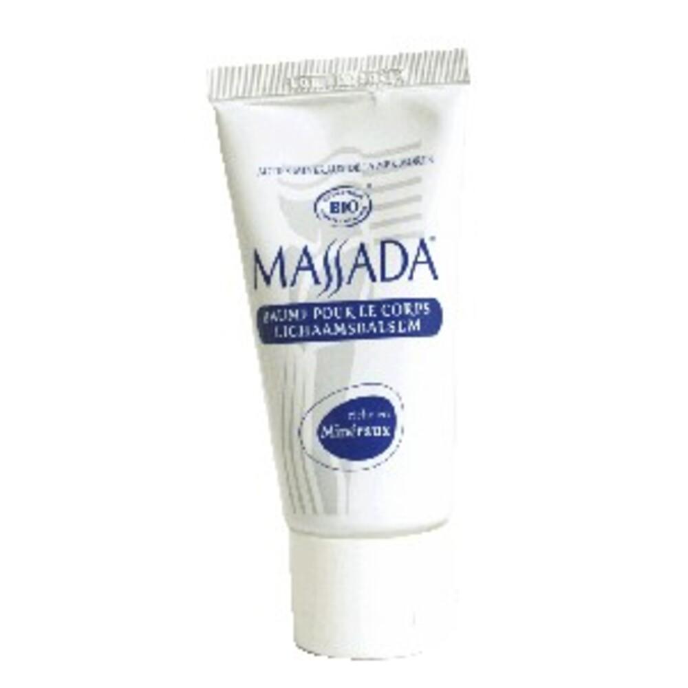 : baume pour le corps bio - 50 ml - divers - massada -136909
