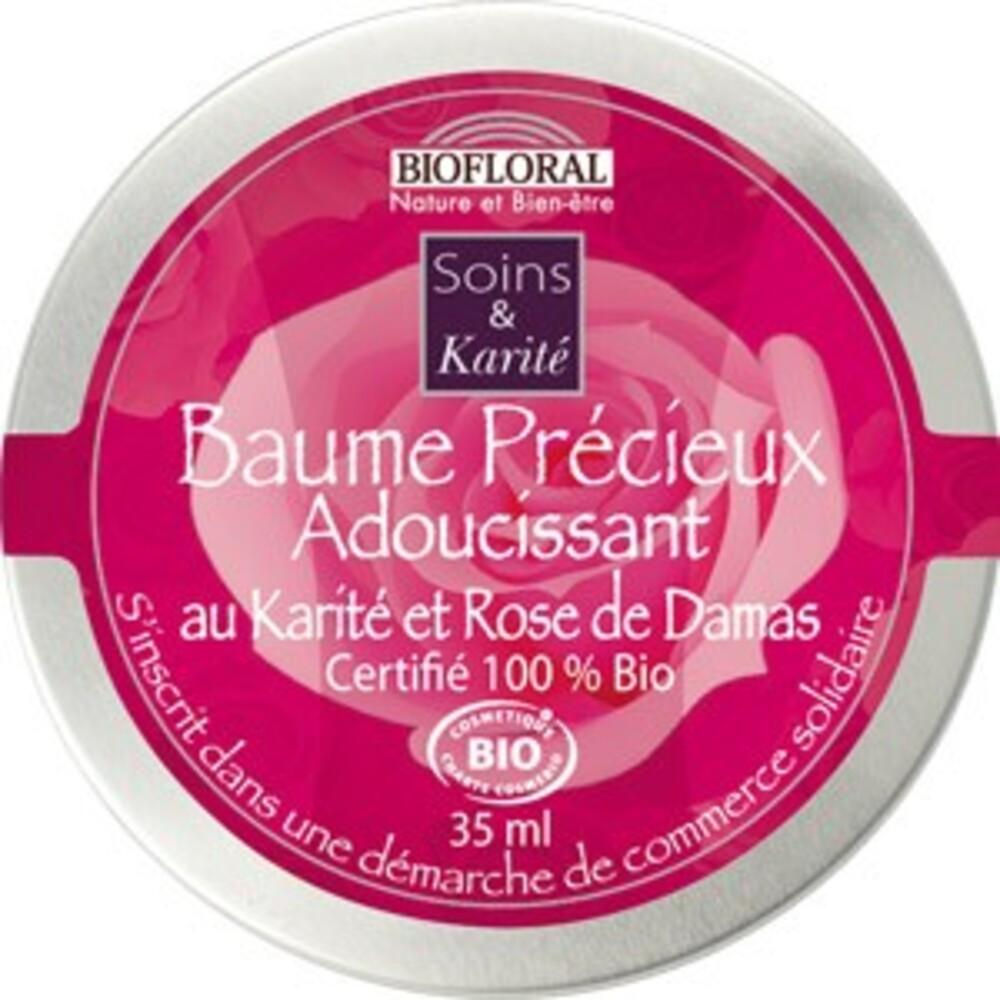Baume précieux à la rose de damas bio - 35 ml - divers - biofloral -134007