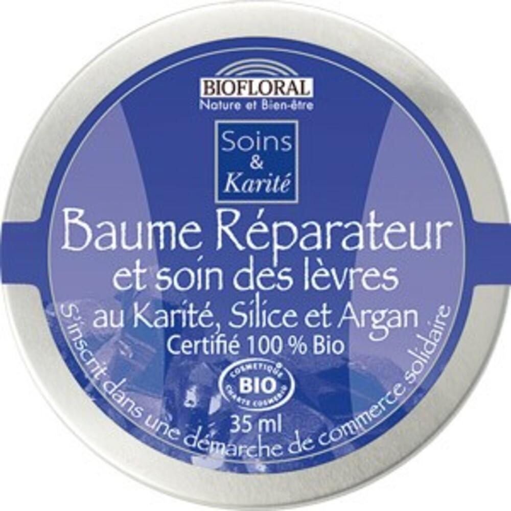 Baume réparateur et soin des lèvres bio - 35 ml - divers - biofloral -134006