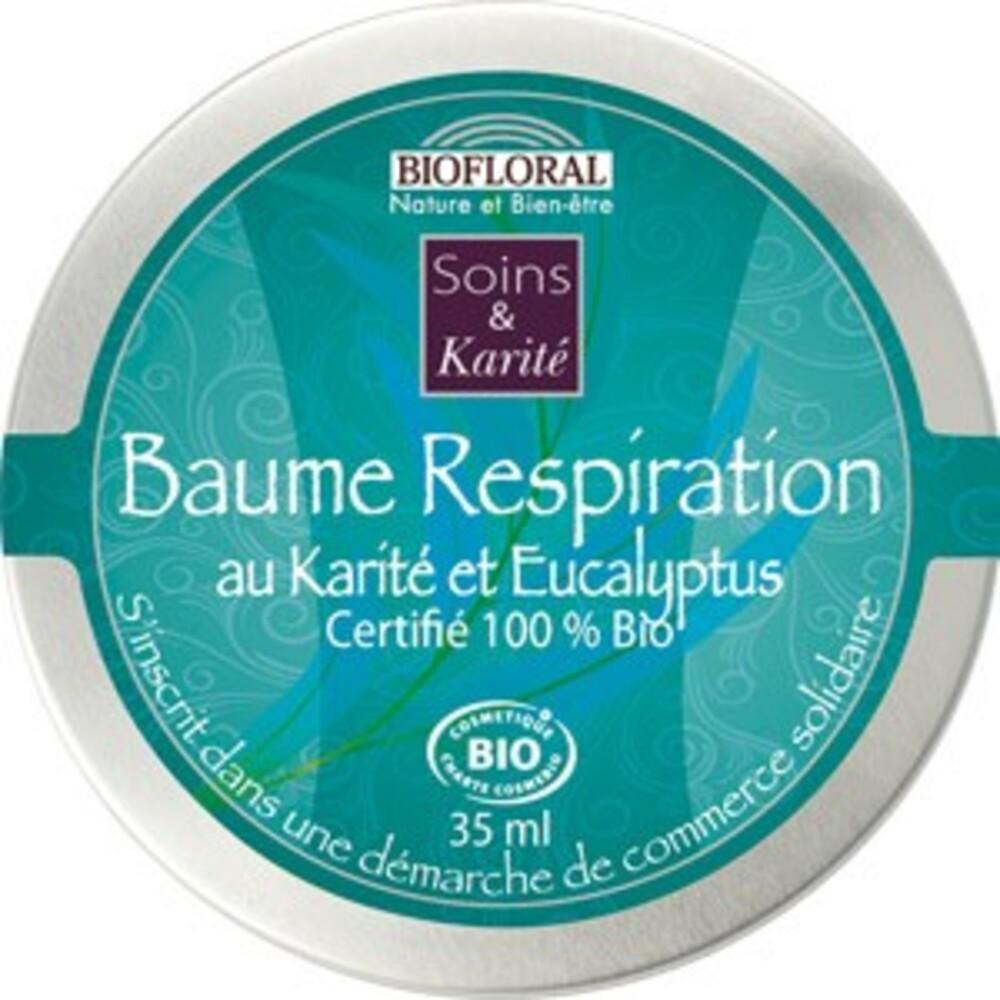 Baume respiration à l'eucalyptus BIO - 35 ml - divers - Biofloral -134008