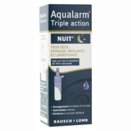 Bausch + lomb aqualarm triple action nuit 10ml - bausch & lomb -221187