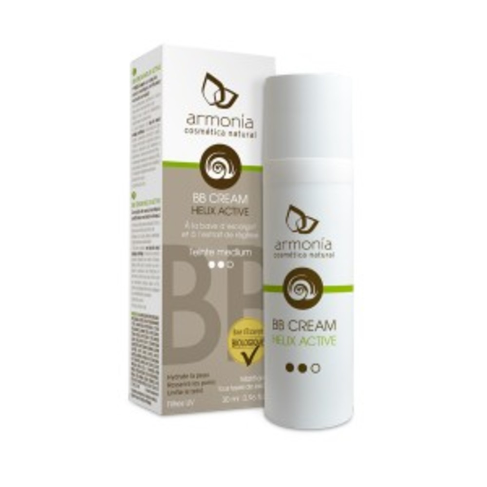 Bb cream medium escargot - flacon airless 30 ml - divers - armonia -188701